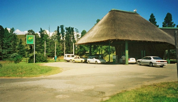 BP Station in Drakensberg, South Africa