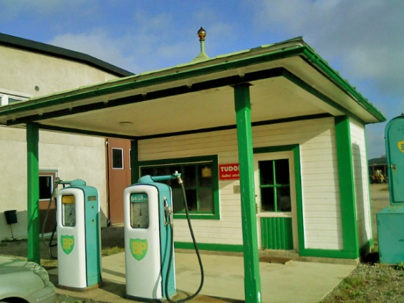 BP Gas Station in Odensberg, Sweden